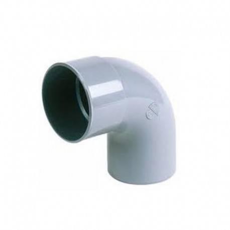 Coude PVC M/F 90° - Diam 160 mm