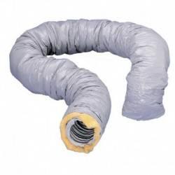 Gaine souple Unelvent PVC Isolée 25 mm 80 mm