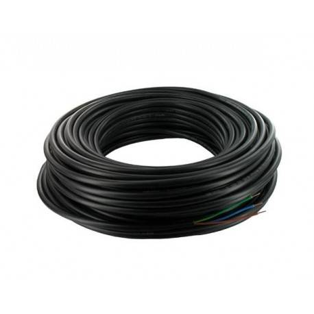 Câble électrique 3G1.5 - 50 mètres