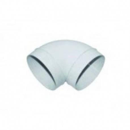 Coude PVC rigide CC 125 mm