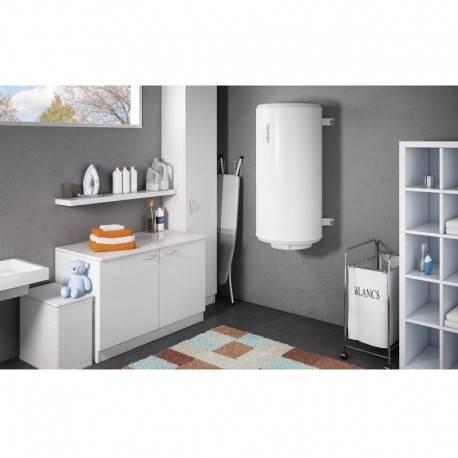 Chauffe-eau électrique 100 L Atlantic chauffeo compact vertical mural