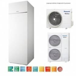 Pompe à chaleur Panasonic Aquarea ECS intégrée T-CAP 12 Kw triphasé