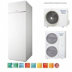 Pompe à chaleur Panasonic Aquarea ECS intégrée T-CAP 16 Kw triphasé