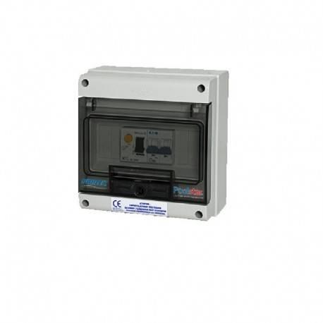 Coffret électrique pour pompe à chaleur piscine Monophasé 50A