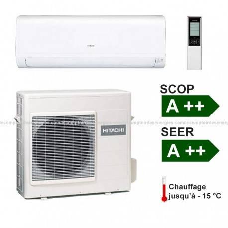 Climatiseur monosplit Hitachi Performance 4.2 Kw