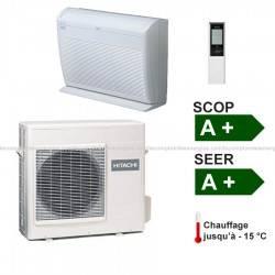 Climatiseur monosplit Hitachi Performance type console 3.4 Kw
