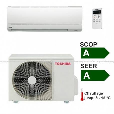 Climatiseur monosplit Toshiba Avant 3.6 Kw