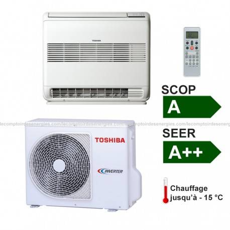 Climatiseur monosplit Toshiba UFV type console 4.2 Kw