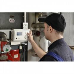 Installation pompe à chaleur air/eau bi-bloc triphasé avec production d'eau chaude sanitaire