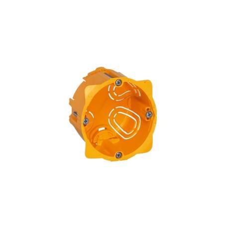Boîte monoposte Batibox - cloison sèche - vis/griffe - 1 poste - prof. 50