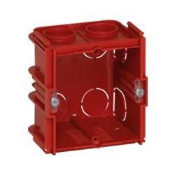 Boîte monoposte Batibox - maçonnerie - carrée associable - prof. 60