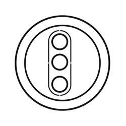 Enjoliveur Céliane - prises RCA - blanc