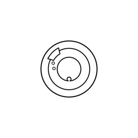 Enjoliveur Céliane - thermostat d'ambiance - blanc