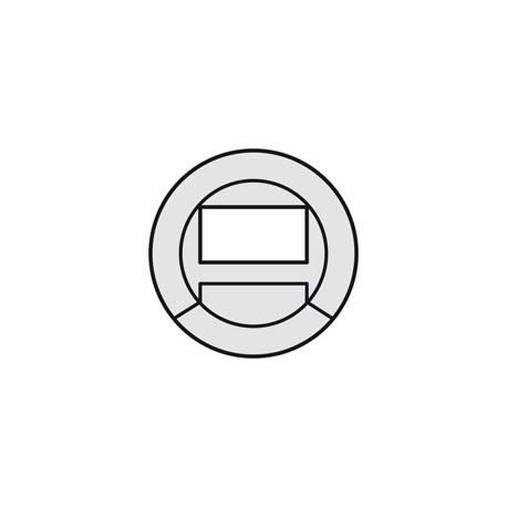 Enjoliveur Céliane - détecteur de balisage - titane