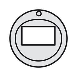 Enjoliveur Céliane - écodétecteurs sans dérogation - titane