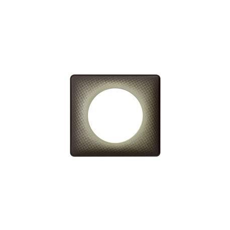 Plaque Céliane - Poudré - 1 poste - Eclipse
