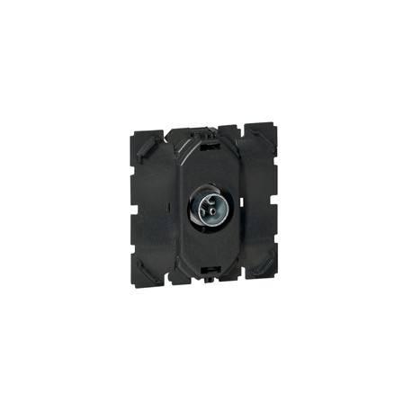 Prise TV Céliane - simple - mâle 0-2 400 MHz