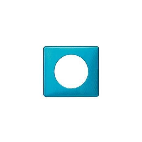 Plaque Céliane - Métal - 1 poste - Blue Snake