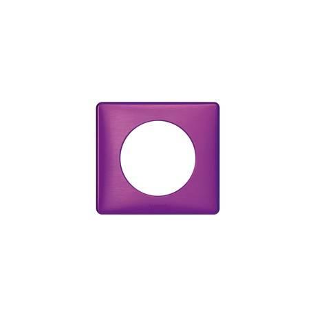 Plaque Céliane - Métal - 1 poste - Violet Irisé