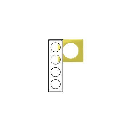 Plaque Céliane - Glacé - 4 postes - Bambou