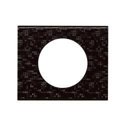 Plaque Céliane - Matières - 1 poste - Cuir Pixel