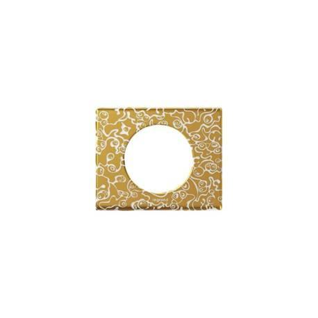 Plaque Céliane - Matières - 1 poste - Féerie (porcelaine)