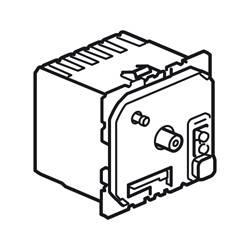 Thermostat d'ambiance fil pilote Céliane 230 V