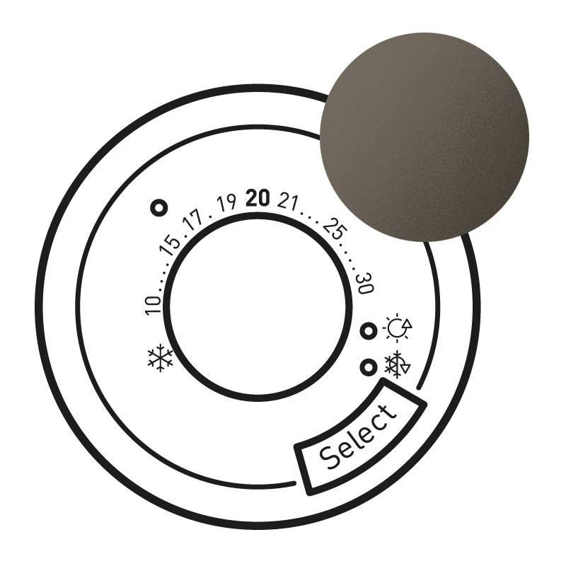 enjoliveur c liane thermostat fil pilote cpl. Black Bedroom Furniture Sets. Home Design Ideas