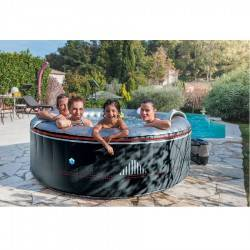 Spa gonflable Montana 4 places rond - Netspa
