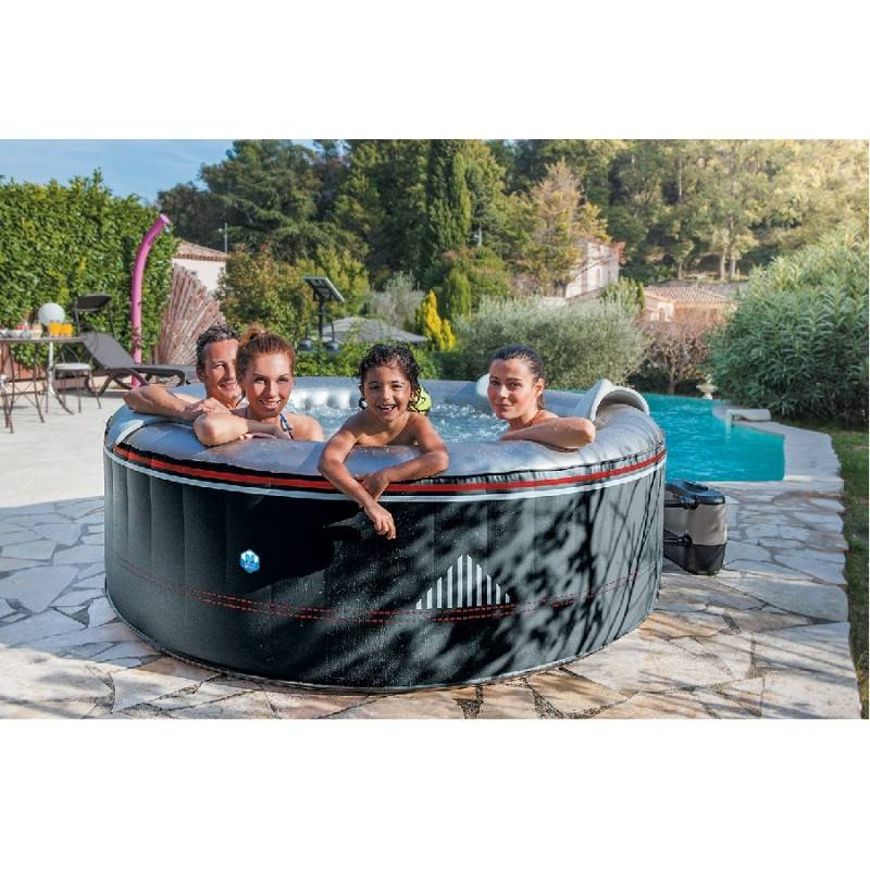 jacuzzi gonflable interieur gallery of intex jacuzzi gonflable purespa cm with jacuzzi. Black Bedroom Furniture Sets. Home Design Ideas