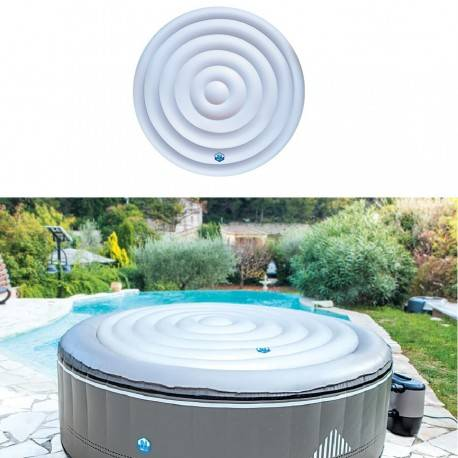 Couverture gonflable spa rond