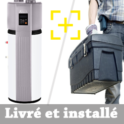 Chauffe eau thermodynamique Altech BT180 + installation