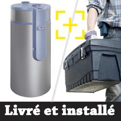 Chauffe eau thermodynamique Auer Cylia 2 Air + installation