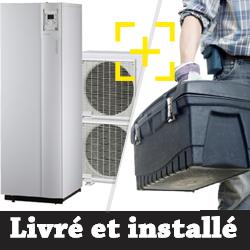 Pompe à chaleur air-eau Atlantic Alféa Excellia Duo 11 Kw + installation