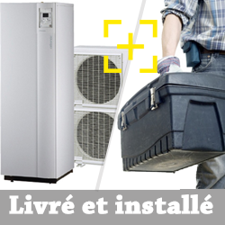Pompe à chaleur air-eau Atlantic Alféa Excellia Duo 16 Kw triphasé + installation