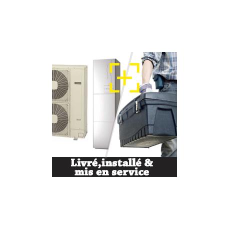 pompe à chaleur avec installation et mise en service