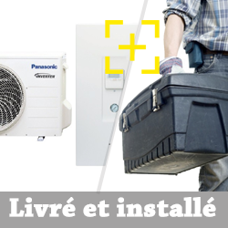 Pompe à chaleur Panasonic Aquarea SDC Bi-bloc haute performance 7 Kw monophasé + installation