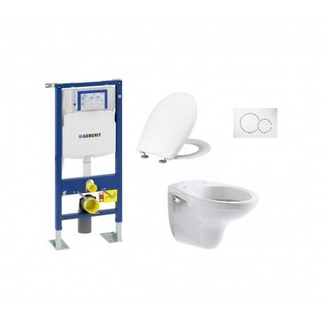 Pack wc suspendu up320 sigma 01 blanc cuvette - Wc siamp suspendu ...