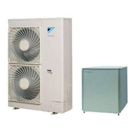 Pompe à chaleur Daikin 16 Kw haute température modèle grand froid monophasé
