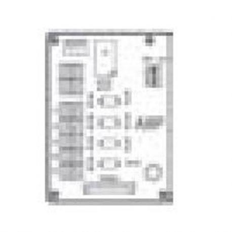 Carte électronique de commande d'accessoires Daikin