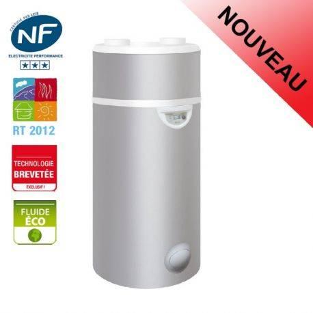 Chauffe eau thermodynamique 200 litres Edel d'Auer