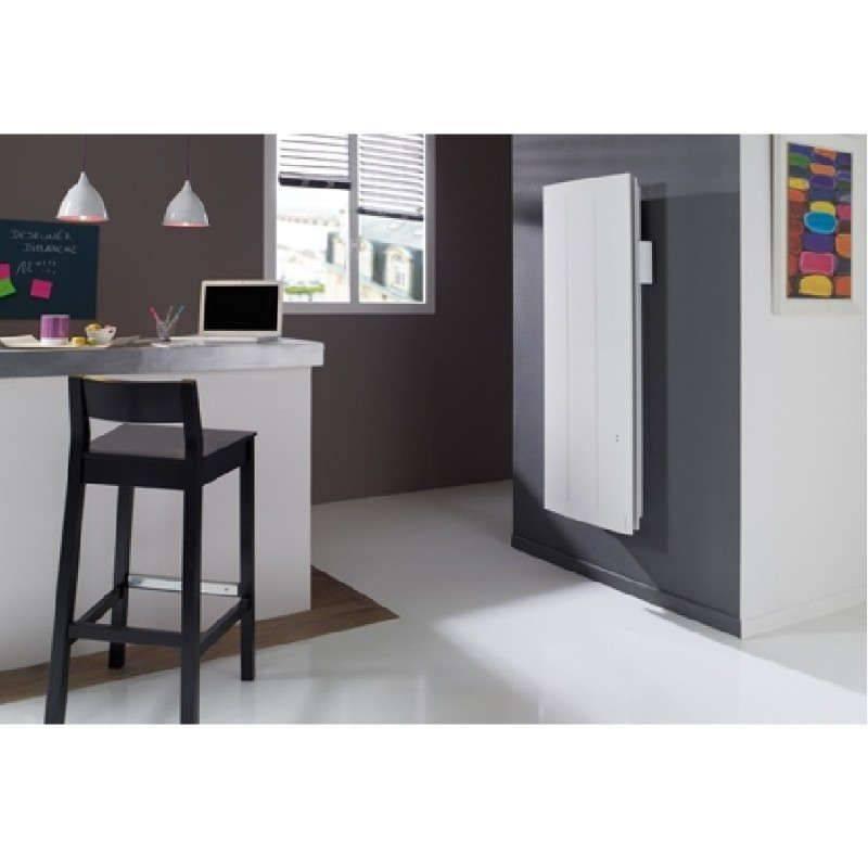 radiateur atlantic oniris 1500 w connect et pilotage intelligent vertical. Black Bedroom Furniture Sets. Home Design Ideas