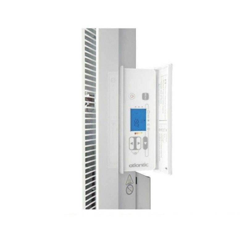Radiateur atlantic nirvana digital vertical puissance 2000 w for Radiateur atlantic nirvana