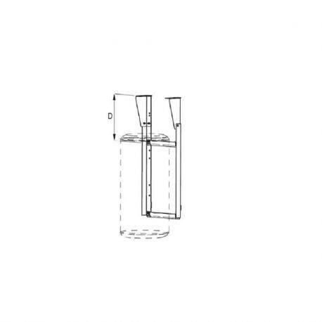 Kit d'accrochage plafond chauffe-eau 50 L à 100 L Atlantic