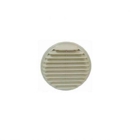 Entrée/Sortie d'air murale PVC beige - Diam 160 mm
