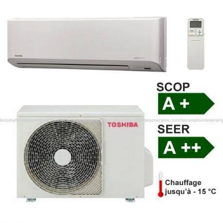 Climatiseur monosplit Toshiba Suzumi + 7 Kw