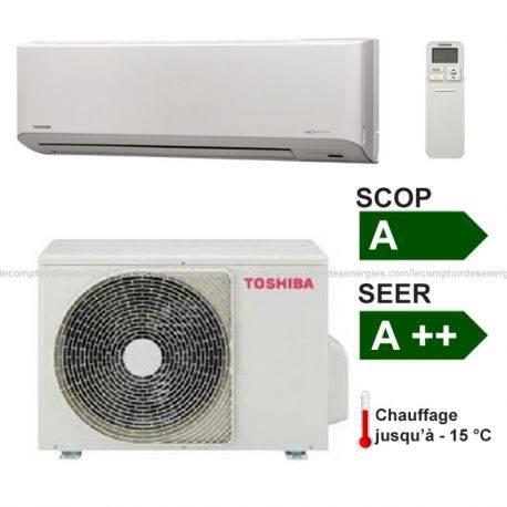 Climatiseur monosplit Toshiba Suzumi + 4.2 Kw