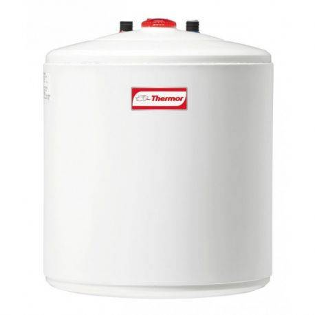 Chauffe-eau électrique Thermor petite capacité étroit sur évier 15 litres compact