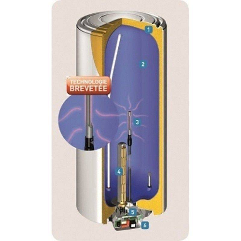chauffe eau lectrique thermor duralis aci hybride vertical stable 150 litres. Black Bedroom Furniture Sets. Home Design Ideas
