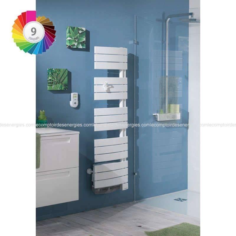 seche serviette thermor allure digital etroit 750w 1000w. Black Bedroom Furniture Sets. Home Design Ideas